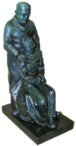 Mcindoe statue cutout